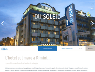 hoteldusoleil.it screenshot