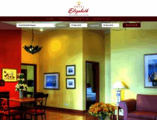 hotelelizabeth.com.ph screenshot