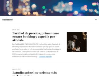 hotelenred.wordpress.com screenshot