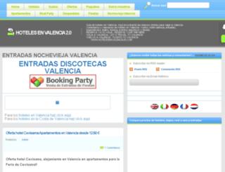 hoteles-en-valencia.net screenshot