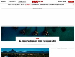 hoteles.hola.com screenshot