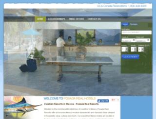 hotelesposadareal.com.mx screenshot