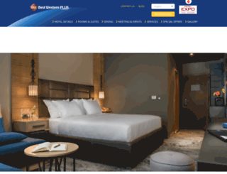 hotelexposofia.com screenshot