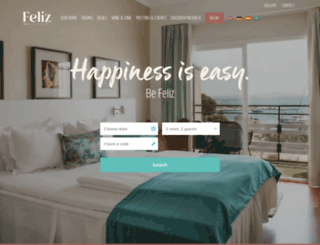 hotelfeliz.com screenshot