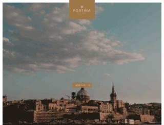 hotelfortina.com screenshot
