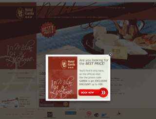 hotelgardamilan.com screenshot