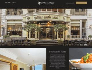hotelgoldenpark.net screenshot