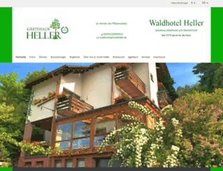 hotelheller.de screenshot