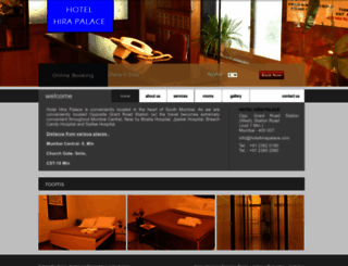 hotelhirapalace.com screenshot