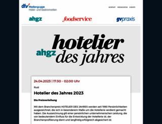 hotelier-des-jahres.de screenshot