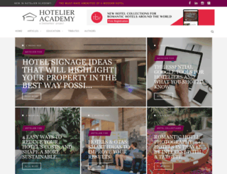hotelieracademy.org screenshot