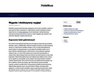 hotelikus.com.pl screenshot