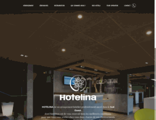 hotelina.fr screenshot