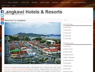 hotelinlangkawi.org screenshot