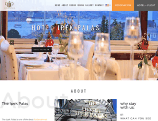 hotelipekpalas.com screenshot