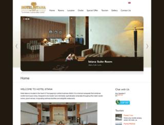hotelistana-tulungagung.com screenshot