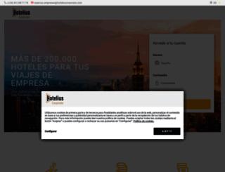 hotelius.com screenshot