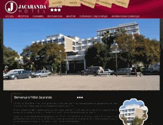 hoteljacaranda.net screenshot