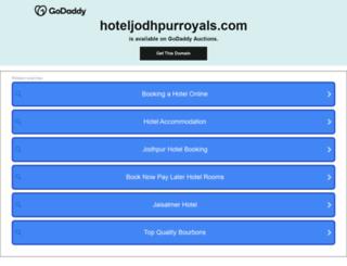 hoteljodhpurroyals.com screenshot