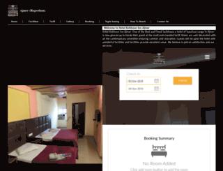 hotelkohinoorinnajmer.com screenshot