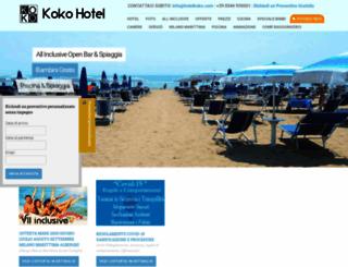 hotelkoko.com screenshot