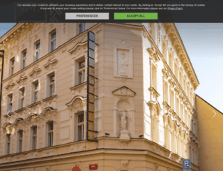 hotelkoruna.eu screenshot