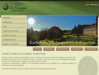 hotellacondesa.com screenshot