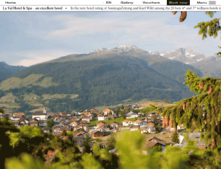 hotellaval.ch screenshot