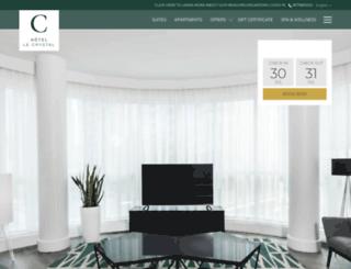 hotellecrystal.com screenshot