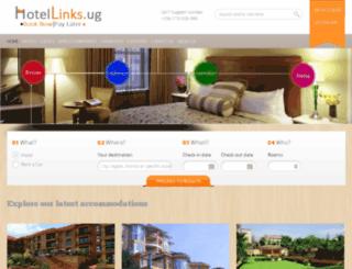hotellinks.ug screenshot