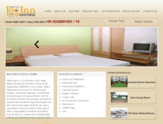hotelloginn.in screenshot