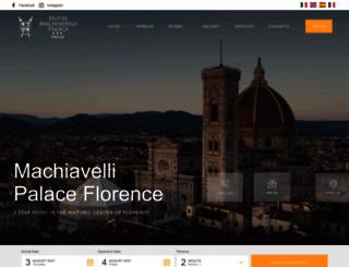 hotelmachiavelli.it screenshot