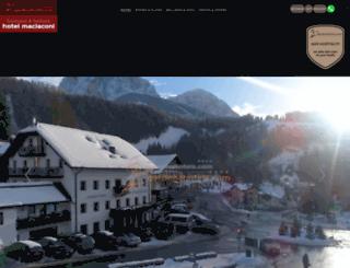 hotelmaciaconi.com screenshot