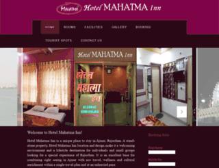 hotelmahatmainn.com screenshot