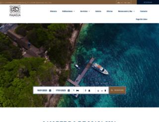 hotelmajagua.com screenshot