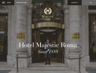 hotelmajestic.com screenshot