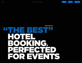 hotelmap.com screenshot