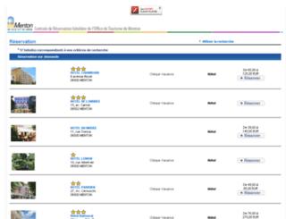 hotelmenton.reservit.com screenshot