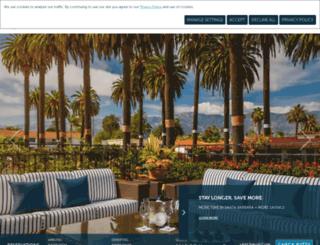 hotelmilosantabarbara.com screenshot