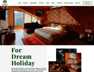 hotelmongas.com screenshot