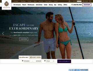 hotelmousai.com screenshot