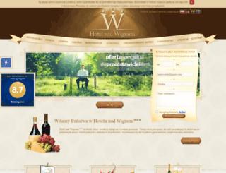 hotelnadwigrami.pl screenshot