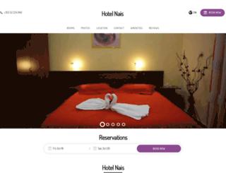 hotelnaisdurres.com screenshot