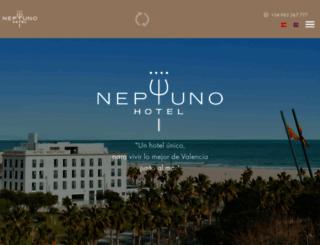 hotelneptunovalencia.com screenshot