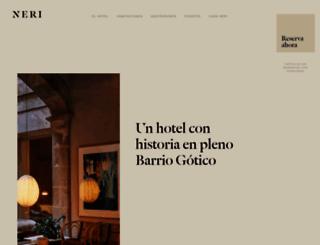 hotelneri.com screenshot