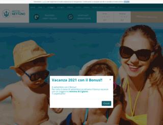 hotelnettuno.org screenshot