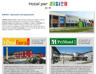 hotelnibirubrescia.it screenshot