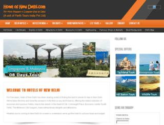 hotelofnewdelhi.com screenshot