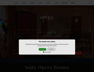 hoteloperaroma.com screenshot