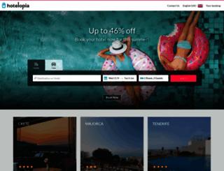 hotelopia.co.uk screenshot